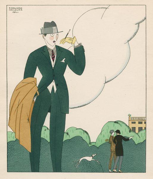 Les Feuillets d' Art, Volume IV, le feuillets de la mode, composition par Edouard Halouze. IML 985381