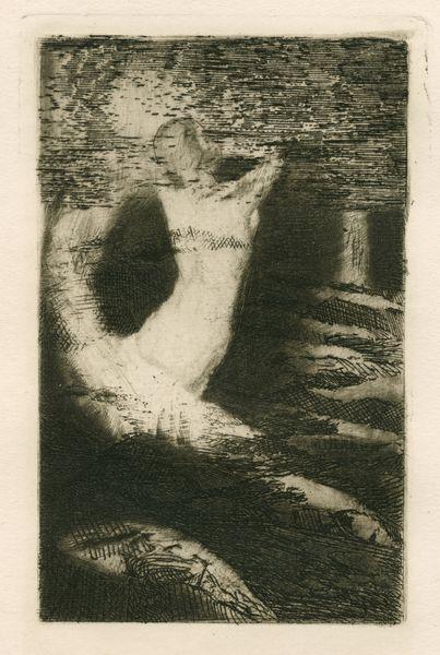 """Les Feuillets d' Art, Volume V, le feuillets des arts du dessin, """"Le passage d'une âme"""" par Odilon Redon. IML 985382"""
