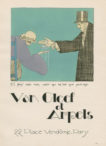Les Feuillets d' Art, Volume III, le feuillets de la publicité, Van Cleef et Arpels. IML 985378