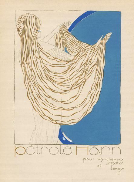Les Feuillets d' Art, Volume V, le feuillets de la publicité, Pétrole Hahn. IML 985383