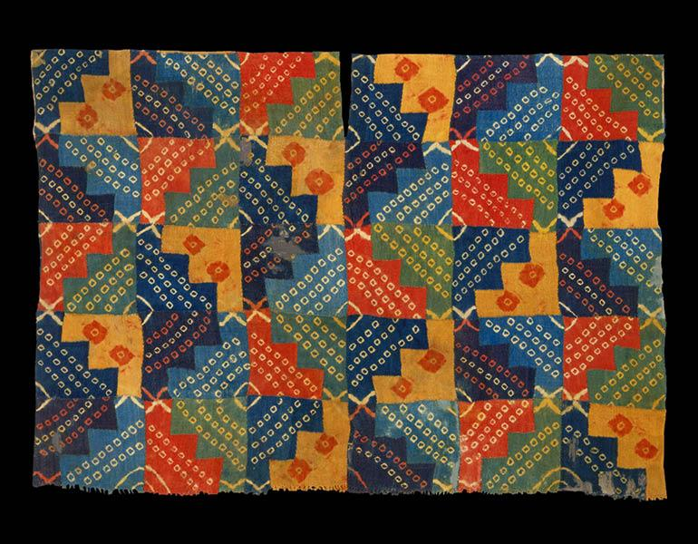 Tunic, 600–1000. Peru, Wari. Camelid fiber and cotton; 86.5 x 122 cm. The Textile Museum, Washington, DC, Acquired by George Hewitt Myers in 1941 91.341