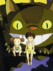 "Image from ""My Neighbor Totoro."" © 1988 Studio Ghibli"