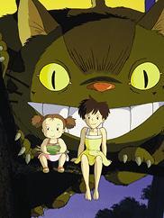 """Image from """"My Neighbor Totoro."""" © 1988 Studio Ghibli"""