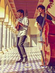 Avi Avital and Omer Avital. Photo by Christie Goodwin