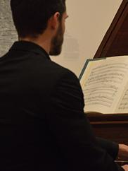 Chamber Music in the Galleries. Photo by Nathanael Garrett