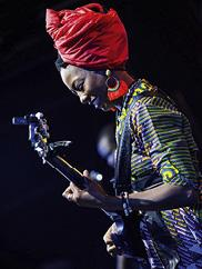 Fatoumata Diawara. Photo by Kenny Mathieson