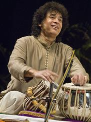 Zakir Hussain. Photo by Susana Millman